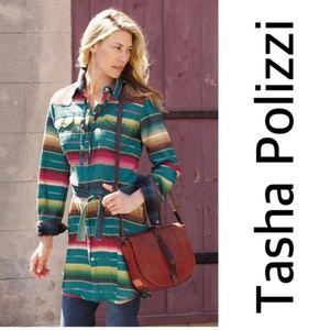 Tasha Polizzi Colt 44 Shirt Dress Size Large